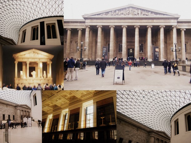 The British Museum and its amazing inside